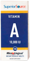 Vitamin A 10,000 IU (Acetate)