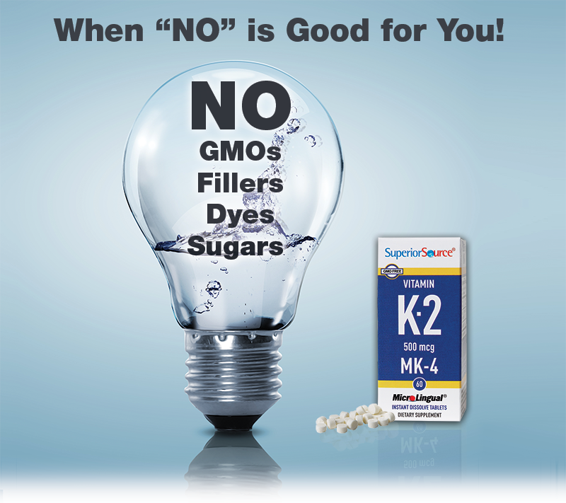 No, GMOs, Fillers, Dyes, Sugars