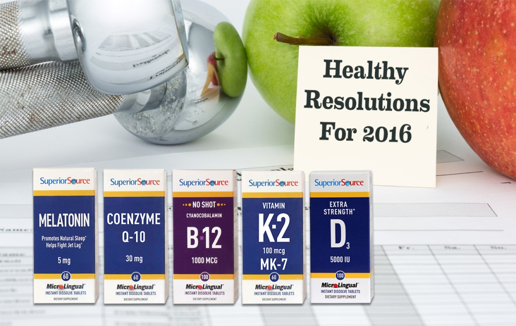 Healthy Resolutions for 2016