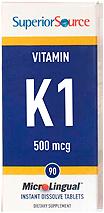 Vitamin K1 500 mcg
