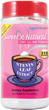 Sweet 'n Natural Stevia Powder (315 servings)