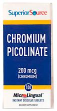 Chromium 200 mcg (Chromium Picolinate)