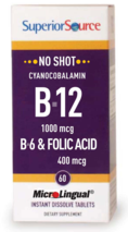 No Shot B-6 / B-12 / Folic Acid 400 mcg