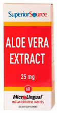 Aloe Vera 25 mg (from Leaf gel 200 to 1 concentrate)