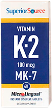 Vitamin K2 100 mcg (MK7)