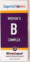 Womens B Complex / Extra B-12 / Folic Acid