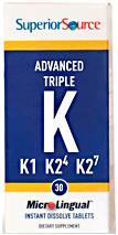 Triple K (500 mcg K1 / 500 mcg K2-MK4 / 50 mcg K2-MK7)