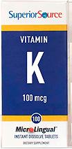Vitamin K1 100 mcg