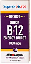 Quick B-12 Energy Burst