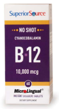 No Shot B-12 10,000 mcg (as Cyanocobalamin)