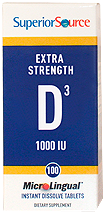Vitamin D 1,000 IU -- Extra Strength