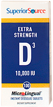 Vitamin D 10,000 IU - Extra Strength
