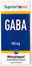 GABA (Gamma-Aminobutyric Acid) 100 mg