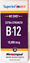 No Shot Methylcobalamin B-12 10,000 mcg