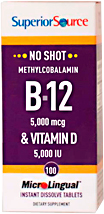 Methyl B-12 5,000 mcg / Vitamin D3 5,000 IU
