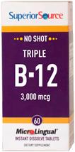No Shot Triple B-12 3,000mcg