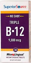 No Shot Triple B-12 9,000mcg