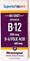 Advanced B-12 / B-6 / Folic Acid 600 mcg