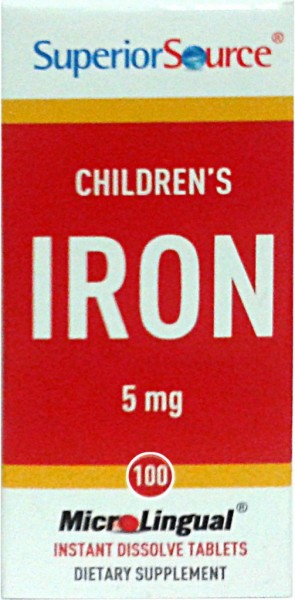 Children's Iron 5mg